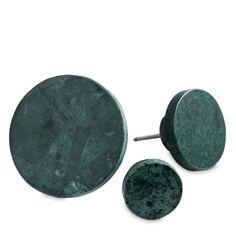 Marble krok S, grønn marmor i gruppen Innredningsdetaljer / Oppbevaring / Kroker