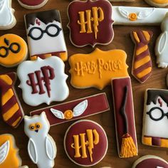 Harry Potter sugar cookies | I Bake, You Bake