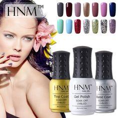 HNM Easy Soak Off UV Gel Nail Polish 58 Colors Nail Gel Polish Gel Lak Vernis Semi Permanent Gelpolish Gel Varnishes