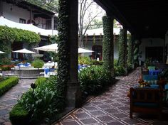 This is my favorite restaurant in the world: San Angel Inn Mexico City