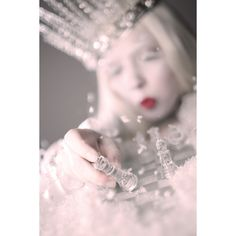 Ice Queen Editorial in Harlow Magazine Doe Deere Blogazine ❤ liked on Polyvore featuring photos, backgrounds and pics