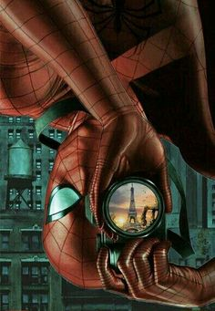 Spiderman photographer
