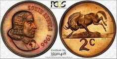 Find many great new & used options and get the best deals for 1966 South Africa 2 Cents PCGS PR66 Proof Color Toned Gem Only 2 Graded Higher at the best online prices at eBay! Free shipping for many products! Old Coins Worth Money, Coin Worth, 5 Cents, Pickling, African History, Childhood Memories, South Africa, Gems, Free Shipping