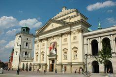 St Anne's Church - Warsaw