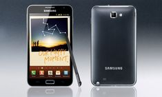 Samsung Galaxy Note - will probably get this in a few days  :)