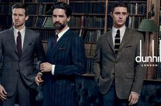Max Irons, Jack Guinness and Andrew Cooper just joined the Dunhill gentleman's…