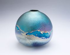 Sabbia Gallery :: Artists Greg Daly Breaking Cloud 2013 Lustre glaze ceramic 24 x 27cm