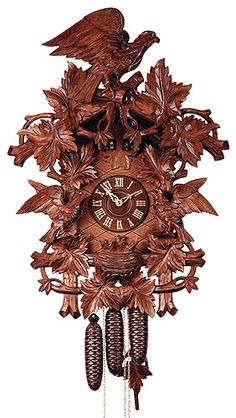 Cuckoo Clock 8-day-movement Carved-Style 70cm by Rombach & Haas - 5632