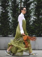 70+ Photos Of Milan's Most Over-The-Top Street Style #refinery29  http://www.refinery29.com/2016/03/104781/milan-fashion-week-fall-winter-2016-street-style-pictures#slide-19  Break your style rut by adding jewel tones (like emerald green and golden yellow) to your neutral options....