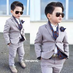 Hot Formal Wedding Page Boys Suit 2 Pieces Boys Kids Teenagers Party Tuxedos Little Boy Outfits, Little Boy Fashion, Kids Fashion Boy, Baby Boy Outfits, Boys Wedding Suits, Wedding Page Boys, Wedding Groom, Boys Tuxedo, Baby Boy Dress