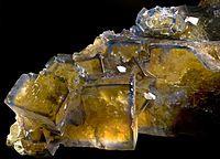 Fluorite - Valzergues Mine, Aveyron, Midi-Pyrénées France