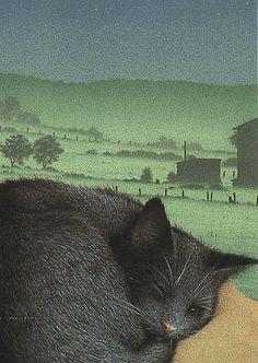 ☆ Sleeping Cat :→: Artist Quint Buchholz ☆