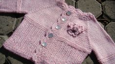 Free+Knitting+Pattern+-+Baby+Sweaters:+Pretty+in+Pink+Cardigan