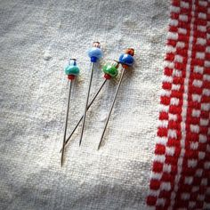 Decorative Pins  Waterpark by parallelbotany on Etsy, $6.25