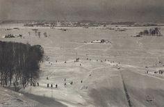 Фотография - Вид Москвы с Воробьёвых гор. - Фотографии старой Москвы