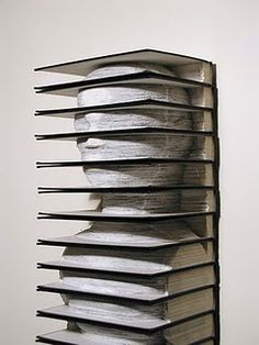 Tab, Altered Set of Vintage Encyclopedias - Brian Dettmer-- book art Altered Books, Art Lotus, Brian Dettmer, Book Art, Laser Tag, Art Quilling, Instalation Art, Book Sculpture, Fine Art