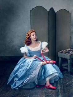 Amy Adams Vogue Magazine December 2014 by Annie Leibovitz