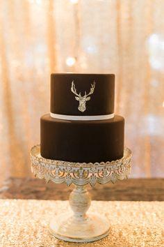 chocolate groom's cake | Amanda Watson