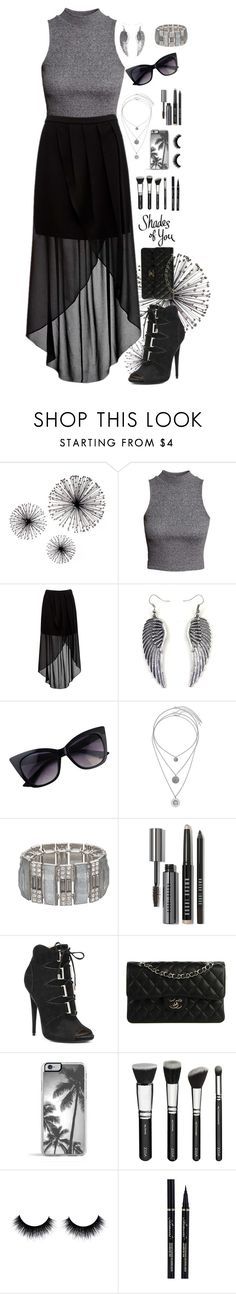 """""""Jenna"""" by sapphire-bloom5 on Polyvore featuring H&M, Forever New, Miss Selfridge, Jennifer Lopez, Bobbi Brown Cosmetics, GUESS by Marciano, Chanel and Zero Gravity"""