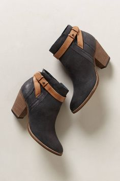 Yuri Nubuck Booties on Wanelo
