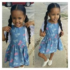 by far the most lovely pursuing baby girl fashion find all of the facts like pajamas, human body matches, bibs. Cute Black Babies, Beautiful Black Babies, Beautiful Children, Cute Babies, Baby Girl Fashion, Kids Fashion, Toddler Girl, Baby Kids, Baby Girl Hairstyles
