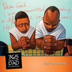 Cbabi Bayoc 365 Days with Dad African American Art 2015 Calendar