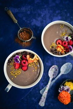 Cocoa Protein Bowl