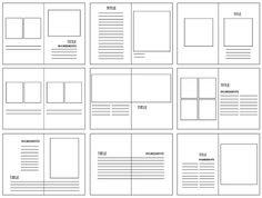 Science Magazine design Inspiration, The Grid System Building a Solid Design Layout Science Web Design, Page Layout Design, Magazine Layout Design, Grid Design, Graphic Design Layouts, Magazine Layouts, Newspaper Design Layout, Layout Book, Design Posters