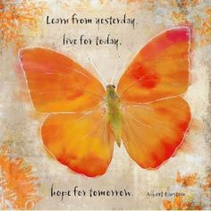 Learn from yesterday, Live for today, hope for tomorrow. #einstein #quote