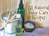 All natural homemade baby skin care recipes