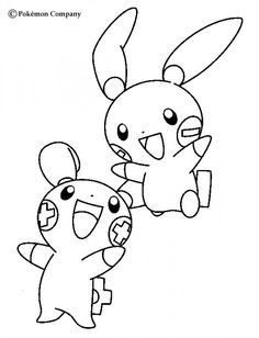Pokemon 02 coloring page