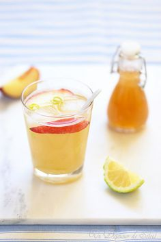 Un dejeuner de soleil: Sirop de nectarines maison (pirsicata) + recette d...