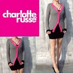 I just discovered this while shopping on Poshmark: Grey-pink sweater.. Check it out! Price: $15 Size: S