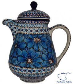 Polish Pottery Signature 4 Series Coffee Pot / LOVE THIS!!!