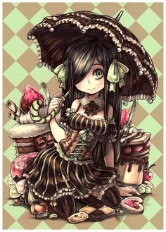 Chocolate and Mint by Pyromaniac.deviantart.com on @deviantART //AGGRESSIVELY PINS
