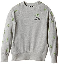 Nike SB Skate Soldier Crew Neck Pullover - French Terry - Sweat-Shirt - Garçon - Gris (dk Grey Heather) - 12 ans (Taille fabricant: 10/12 Years) Nike http://www.amazon.fr/dp/B011V0HIYI/ref=cm_sw_r_pi_dp_6LdHwb1X5X1VE