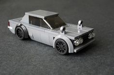 This is a fully legal build, and, have to say looking at it now in-the-brick I think the proportions are better with the added length. Nissan Skyline, Skyline Gtr, Legos, Lego Cars Instructions, Lego Wheels, Lego Minifigs, Lego Technic, Lego Police, Amazing Lego Creations
