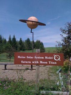 Photo of Maine Solar System Model