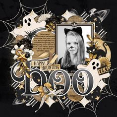 Used the following from the Sweet Shoppe: Template: Half Pack 170: All Hallows Eve by Cindy Schneider Scaredy Cat by Kristin CB