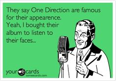 hahaha, I fell in love with their personalities & their music, not their faces, that's just a bonus ;)