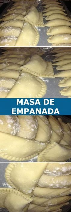 💠 Empanadas caseiras, a melhor massa do mundo↗️ - Nutrición - Mexican Food Recipes, Dessert Recipes, Fried Pies, Pan Dulce, Latin Food, I Love Food, Curry, Food And Drink, Cooking Recipes
