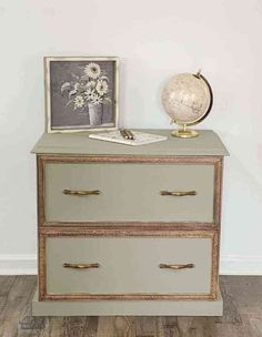 If your filing cabinet has seen better days or if you want inspiration for a unique and creative filing cabinet to enhance your home decor, check out the before and after photos for some upcycle inspiration. Farmhouse Cabinets, Diy Cabinets, Kitchen Cabinets, Kitchen Paint, Bathroom Cabinets, Diy Kitchen, Furniture Makeover, Cool Furniture, Furniture Refinishing