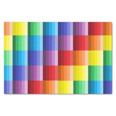 Shades of Colors Tissue Paper