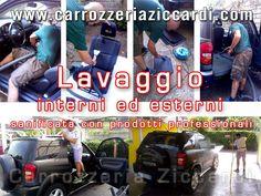 Lavaggio interni ed esterni auto