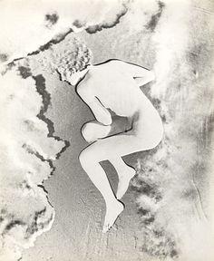 Erwin Blumenfeld, Nude (Lisette), Paris, 1937. Collection Yvette Blumenfeld Georges Deeton