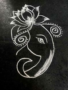 Ideas Yoga Girl Drawing Lotus Flowers For 2019 58 Ideas Yoga Girl Drawing Lotus Flowers For 2019 The post 58 Ideas Yoga Girl Drawing Lotus Flowers For 2019 appeared first on Easy flowers. Rangoli Designs Images, Rangoli Designs Diwali, Beautiful Rangoli Designs, Henna Designs, Diwali Rangoli, Rangoli Colours, Rangoli Patterns, Rangoli Ideas, Ganesha Rangoli