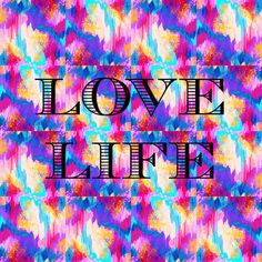 LOVE LIFE Fine Art Print Pretty Typography Ikat by EbiEmporium, $28.00 Romantic Typography Digital Art Print, Fine Art Painting Original Design, Whimsical Art, Ikat Abstract Acrylic Painting, Pretty in Pink, Romantic Love, Valentines Day, Romance, Sweet, Trendy, Hipster, Cool, Awesome, Canadian Artist, Elegant Home Decor, Perfect Gift for Her, Girlie, Feminine, Girly, Wall Art, Home Decor, Winter 2014, Beautiful