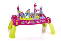 Mega Bloks Lil Princess Play N Go Fairytale Table Toddler Toys, Baby Toys, Kids Toys, Toddler Stuff, Christmas 2014, Christmas Gifts, 2nd Birthday, Birthday Gifts, Birthday Ideas