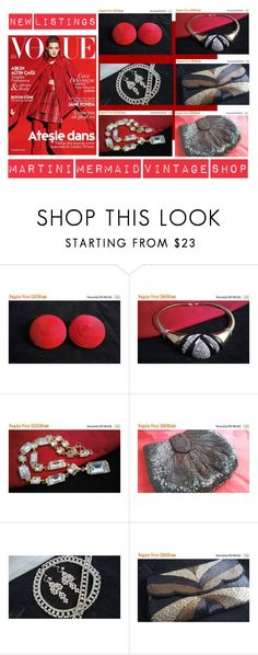 """""""New Listings.."""" by martinimermaid ❤ liked on Polyvore featuring La Regale and vintage"""