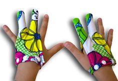 Glovey Huggey ~ Rainbow Love ~ Gloves to help stop finger sucking $39.99